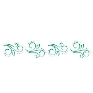 Estencil-para-Pintura-Simples-6x30-Arabesco---OPA1072---Opa