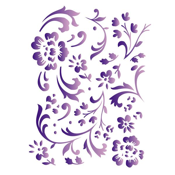 Estencil-para-Pintura-Simples-15x20-Estamparia-Floral---OPA382---Opa