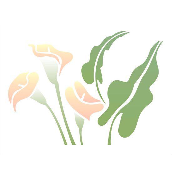 Estencil-para-Pintura-Simples-20x25-Flor-Copo-de-Leite-OPA1326---Opa