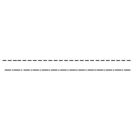 Estencil-para-Pintura-Simples-4x30-Pontilhado-II-OPA128---Opa