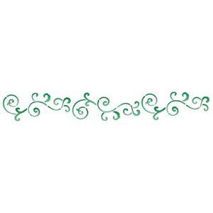 Estencil-para-Pintura-Simples-4x30-Arabesco-Barroco-OPA763---Opa