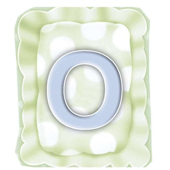 Aplique-Madeira-e-Papel-Placa-Letra--O--Menino-LMAPC-280---Litocart