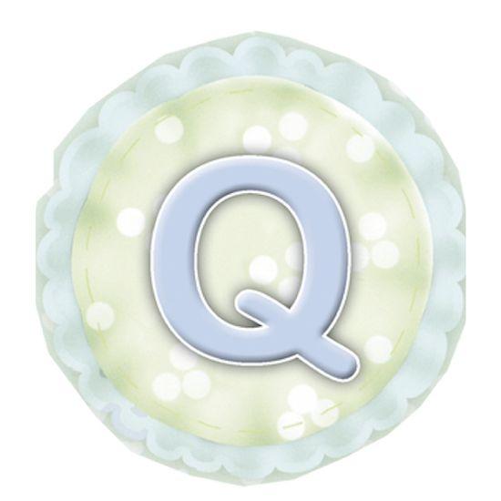 Aplique-Madeira-e-Papel-Placa-Letra--Q--Menino-LMAPC-282---Litocart