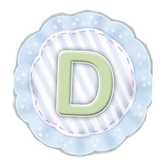 Aplique-Madeira-e-Papel-Placa-Letra--D--Menino-LMAPC-269---Litocart