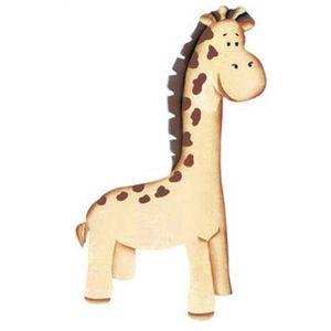 Aplique-Madeira-e-Papel-Placa-Girafa-LMAPC-250---Litocart