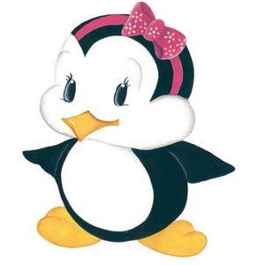 Aplique-Madeira-e-Papel-Placa-Pinguim-de-Laco-LMAPC-257---Litocart
