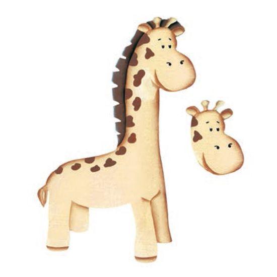 Aplique-Madeira-e-Papel-3D-Girafa-LDMPC-32---Litocart