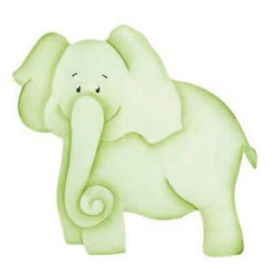 Aplique-Madeira-e-Papel-Placa-Elefante-LMAPC-252---Litocart