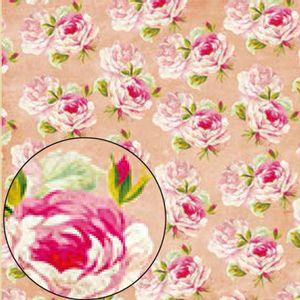 Papel-Scrapbook-Folha-Simples-Flores-LSC-224---Litocart