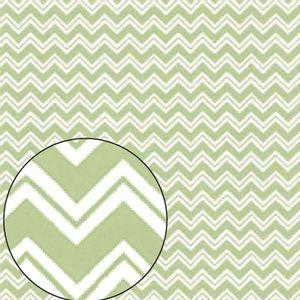 Papel-Scrapbook-Folha-Simples-Zig-Zag-Verde-LSC-217---Litocart