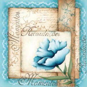 Placa-Decorativa-Madeira-Pequena-Recordacoes-Flor-LPPC-09---Litocart