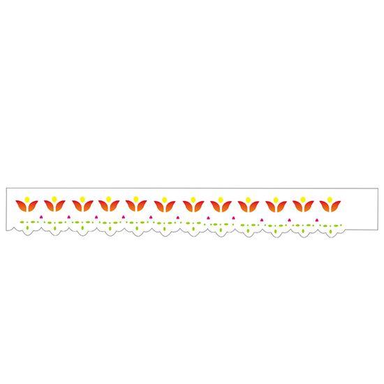 Estencil-para-Pintura-Simples-4x30-Bordado-Tulipa---OPA348---Opa
