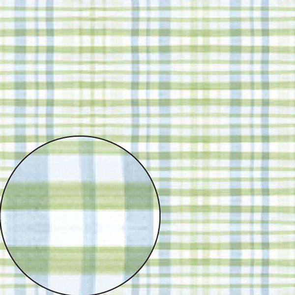 Papel-Scrapbook-Folha-Simples-Xadrez-Azul-e-Verde-LSC-214---Litocart