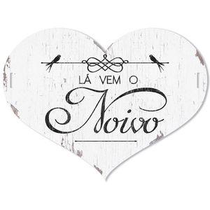 Placa-Decorativo-La-vem-o-Noivo-40x30-em-MDF-DHPM5-016---Litoarte