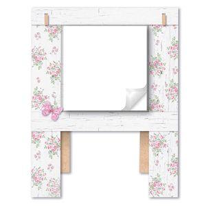 Porta-Recado-Borboleta-com-Flor-175x23-em-MDF-DHPM5-005---Litoarte
