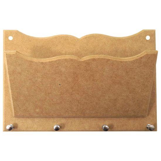 Porta-Cartas-e-Chaves-Trabalhado-com-4-Pinos---MDF