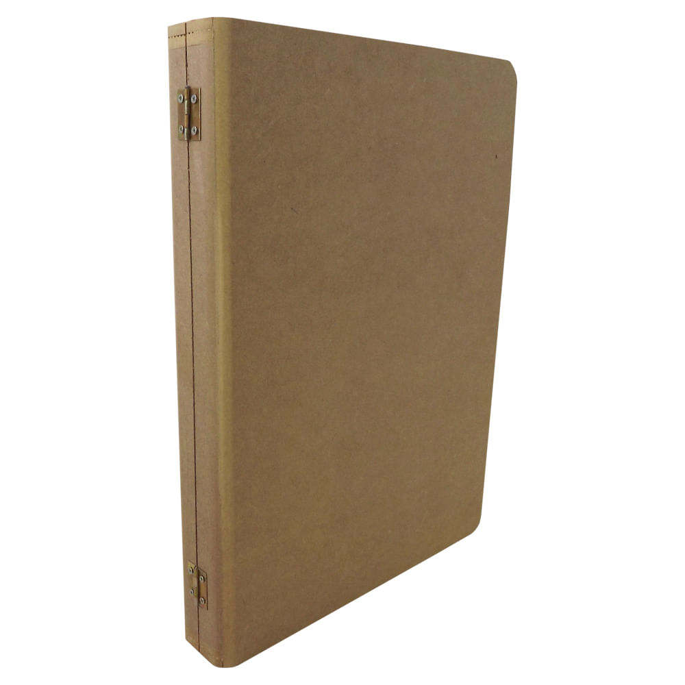 17a186885 Caixa Livro Grande Liso - MDF - PalacioDaArte