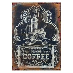 Quadro-Welcome-Coffee-House-40x30---The-Home