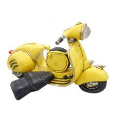 Cofre-Miniatura-Vespa-Retro-Amarela---The-Home