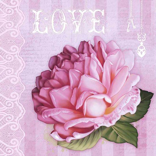 Papel-Decoupage-Adesivo-Love-Rosas-20x20cm-DA20-032---Litoarte