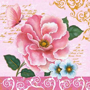 Papel-Adesivo-Decoupage-Hot-Stamping-Rosas-20x20cm-DA20H-001---Litoarte