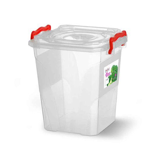 Caixa-Box-Organizadora-Mantimentos-com-Alca-Transparente-5-Litros---Niquelart