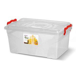Caixa-Box-Organizadora-Mantimentos-Retangular-com-Alca-Transparente-75-Litros---Niquelart