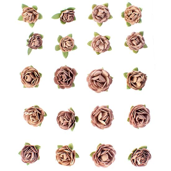 Flores-Artesanais-Feito-a-Mao-Mini-Sepia-FLOR92---Toke-e-Crie