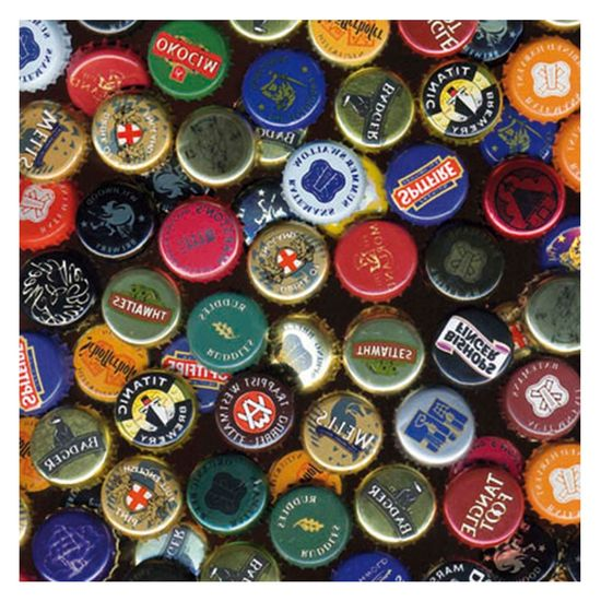 Placa-MDF-Quadrada-25x25-Tampinas-de-Cerveja-LPQP-003---Litocart