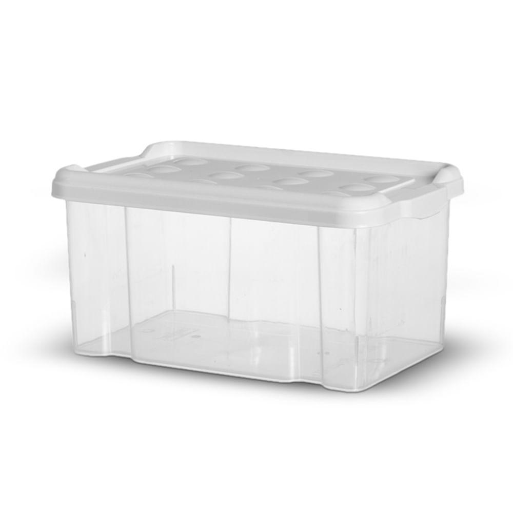 f5f9ceddbaa12 Container 6 Litros Tampa Branco - Niquelart - PalacioDaArte