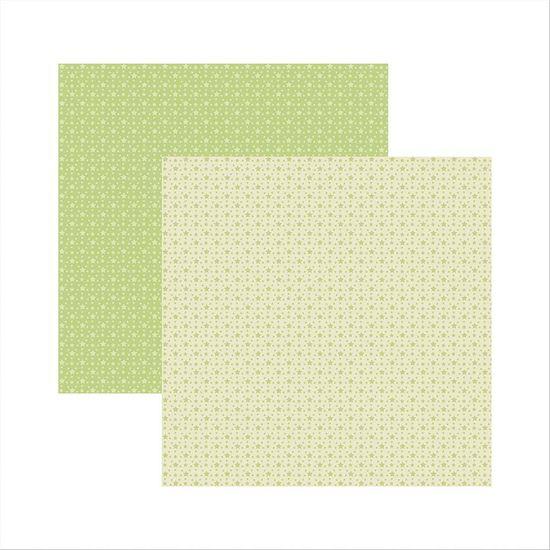 Papel-Scrapbook-Basico-Verde-Bebe-Estrelas-KFSB367---Toke-e-Crie-by-Ivana-Madi