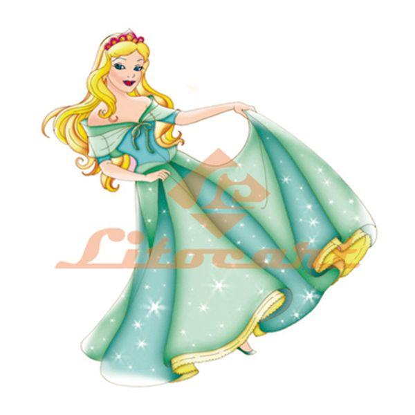 Aplique-MDF-Decoupage-Princesa-Cinderela-LMAPC-339---Litocart