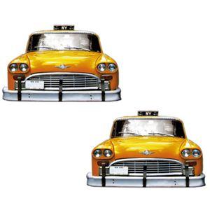 Aplique-MDF-Decoupage-com-2-Unidades-Taxi-Amarelo-LMAP-066---Litocart