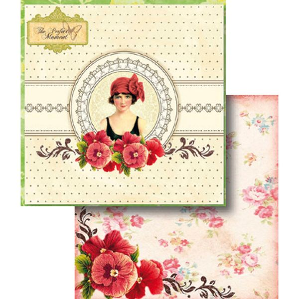 Papel-Scrapbook-Dupla-Face-The-Perfect-Moment-LSCD-339---Litocart