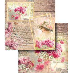 Papel-Scrapbook-Dupla-Face-Moldura-Vintage-LSCD-340---Litocart