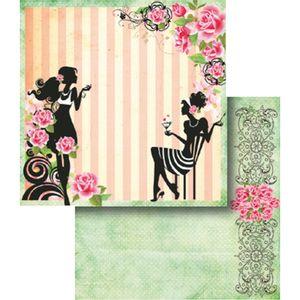 Papel-Scrapbook-Dupla-Face-Mulheres-Flores-e-Listras-LSCD-344---Litocart