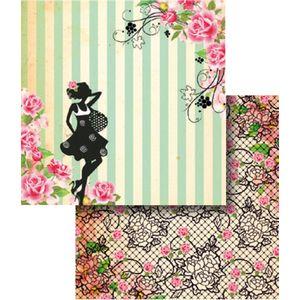 Papel-Scrapbook-Dupla-Face-Flores-e-Listras-LSCD-343---Litocart