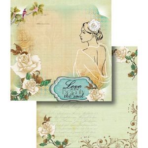 Papel-Scrapbook-Dupla-Face-Love-is-the-Beauty-of-the-Soul-LSCD-342---Litocart