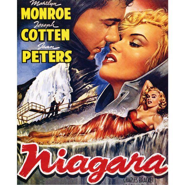Placa-Madeira-MDF-20x25-Marilyn-Monroe-Niagara-LPMC-014---Litocart