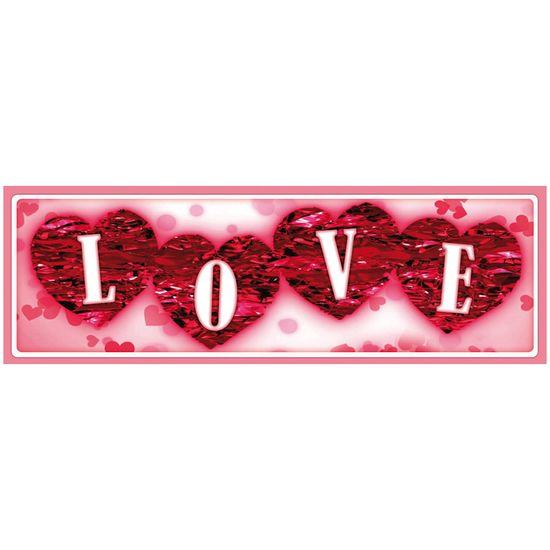 Placa-Madeira-MDF-13x40-Love-Amor-Coracao-LPD-011---Litocart