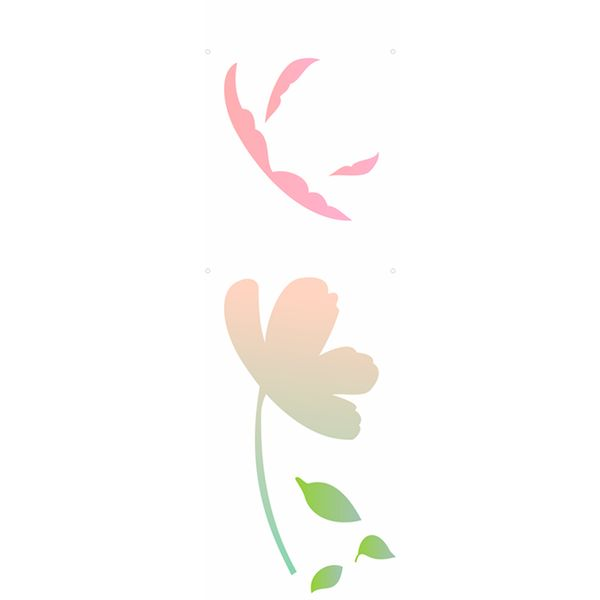 Estencil-para-Pintura-Simples-10x30-Flor-Camelia-II-OPA1794---Opa