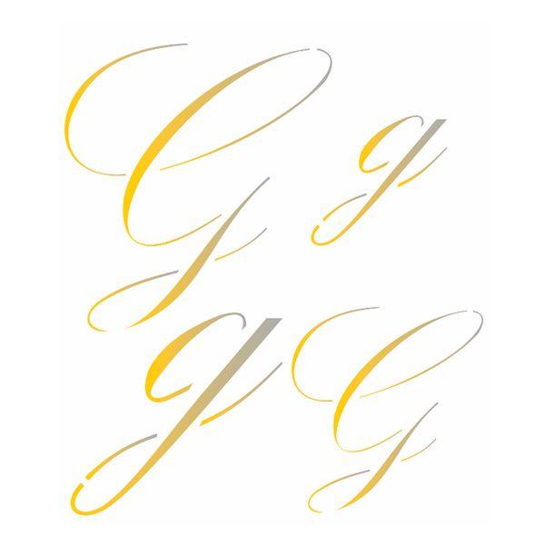 Estencil-para-Pintura-Simples-14x14-Manuscrito-G-OPA1802---Opa