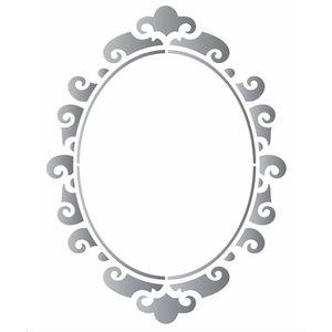 Estencil-para-Pintura-Simples-20X25-Moldura-Oval-II-OPA1886---Opa