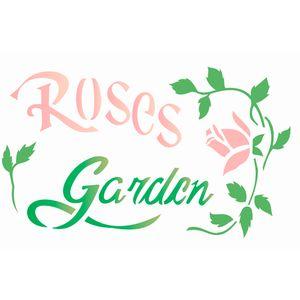 Estencil-Wall-para-Pintura-Simples-20X25-Rosas-Garden-OPA1833---Opa