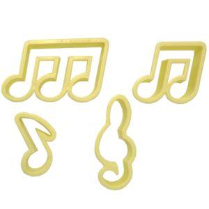 Jogo-Cortadores-Confeitaria-Notas-Musicais-com-4-pecas---Blue-Star