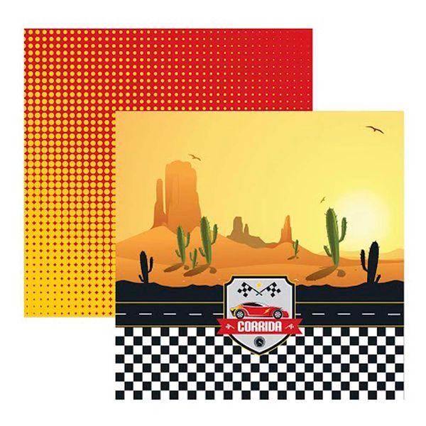 Papel-Scrapbook-Corrida-Deserto-SDF595---Toke-e-Crie