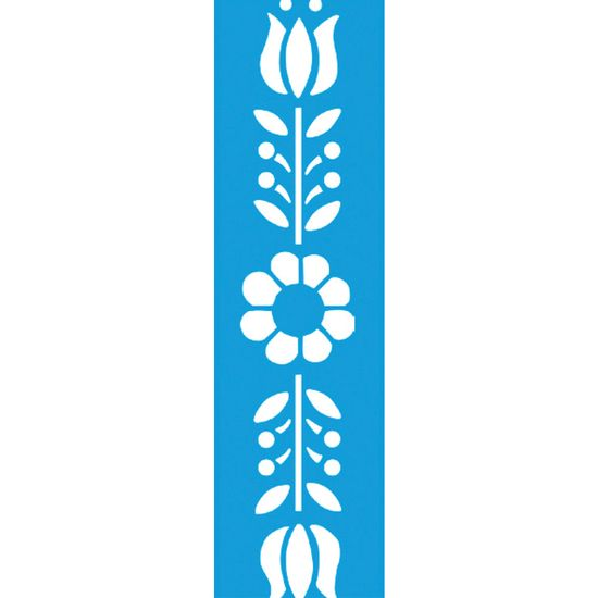 Stencil-para-Pintura-Barra-295x85-Tulipa-e-Margarida-LS-026---Litocart