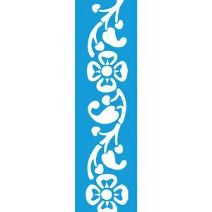 Stencil-para-Pintura-Barra-295x85-Flores-LS-024---Litocart