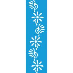 Stencil-para-Pintura-Barra-295x85-Flores-LS-018---Litocart