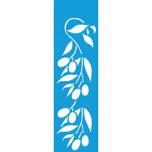 Stencil-para-Pintura-Barra-295x85-Folhas-e-Frutas-LS-023---Litocart